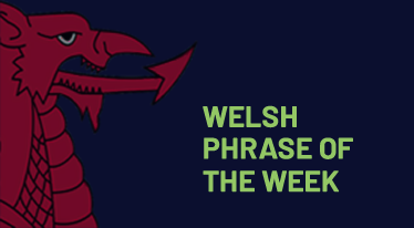 Welsh Phrase of the Week