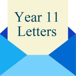 Year 11 Letters